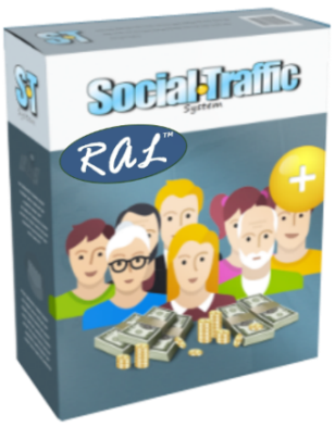 Social Traffic System, by RAL, is for everyone who needs traffic
